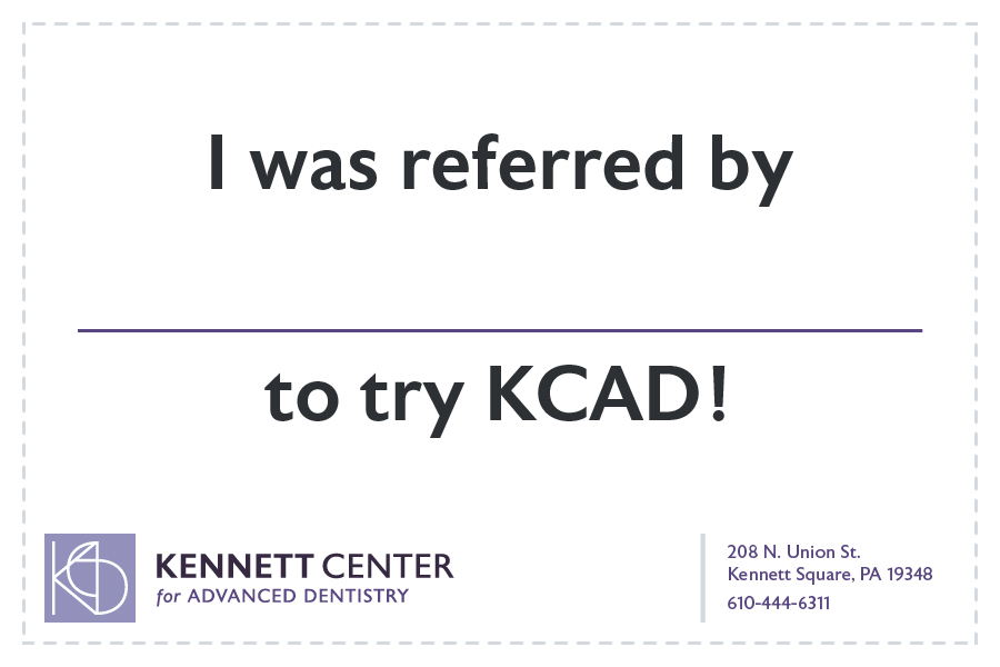 I was referred by (insert name here) to try KCAD!
